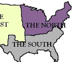 differences between north and south civil war
